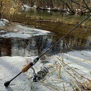 Первые весенние уловы по открытой воде