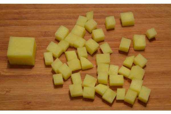 Картофельная наживка на сазана