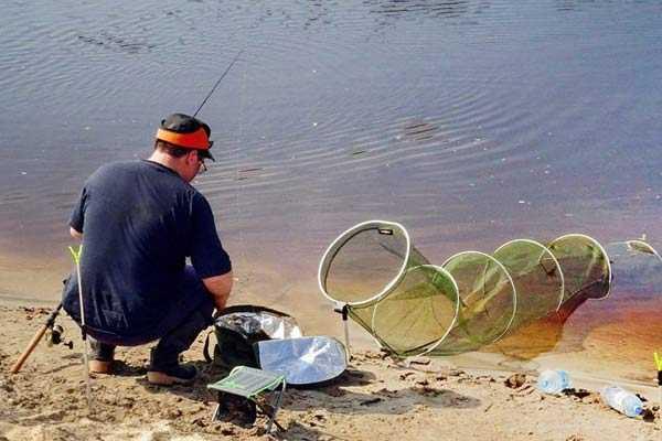 сохранить рыбу в садке