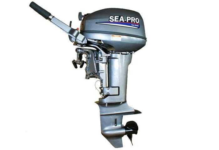 мотор sea-pro 9.8 копия Ямаха