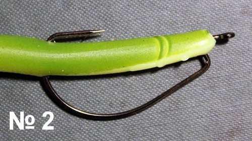 Офсетные крючки-виды и правильный монтаж приманок на офсетнике
