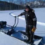 Мотобуксировщик СТЕМ Север эксперт 15 л.с Технические характеристики